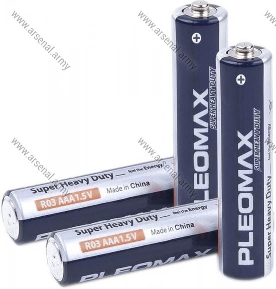 Батарейка R-03 Pleomax