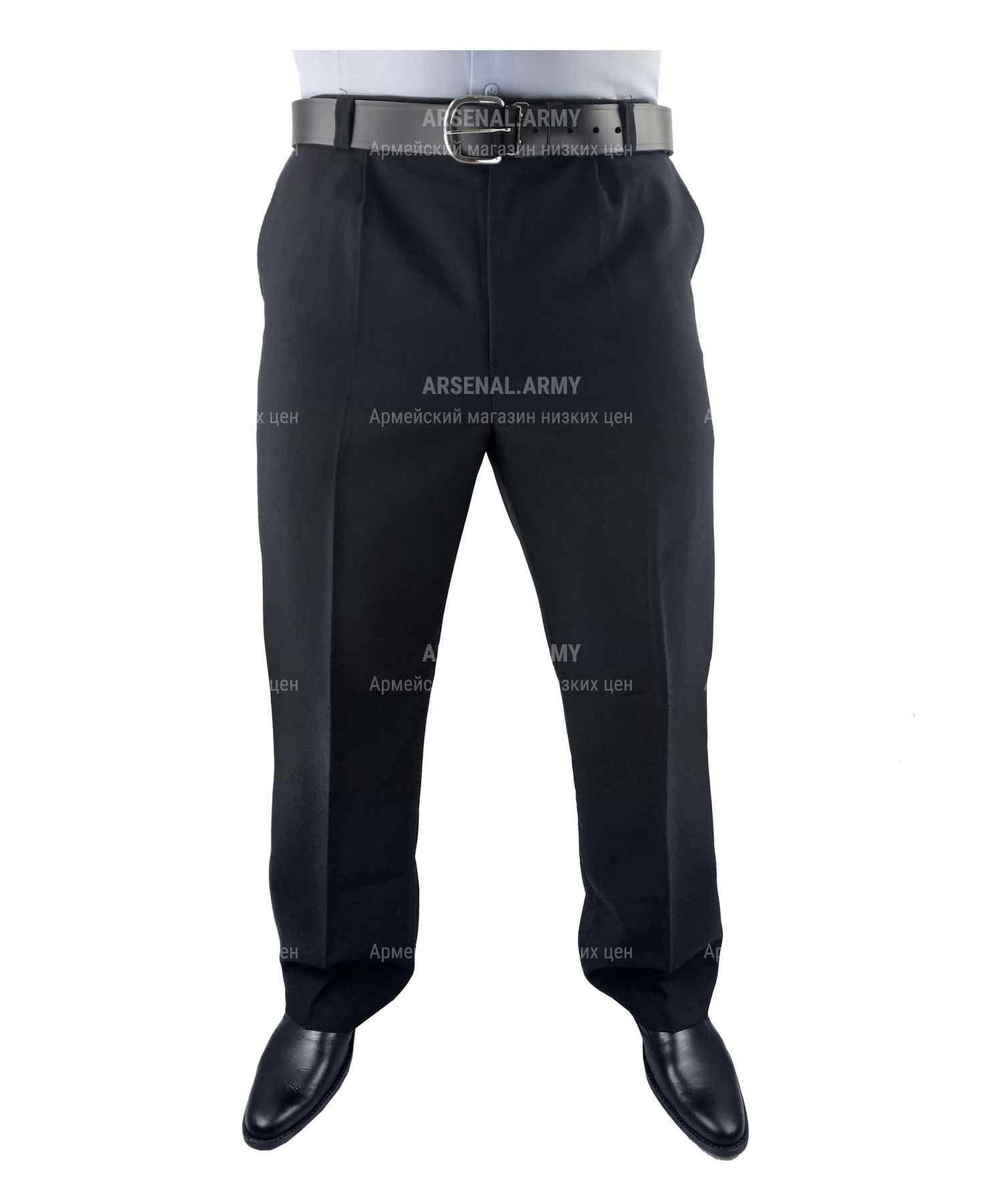 Брюки полушерсть полиции мужские