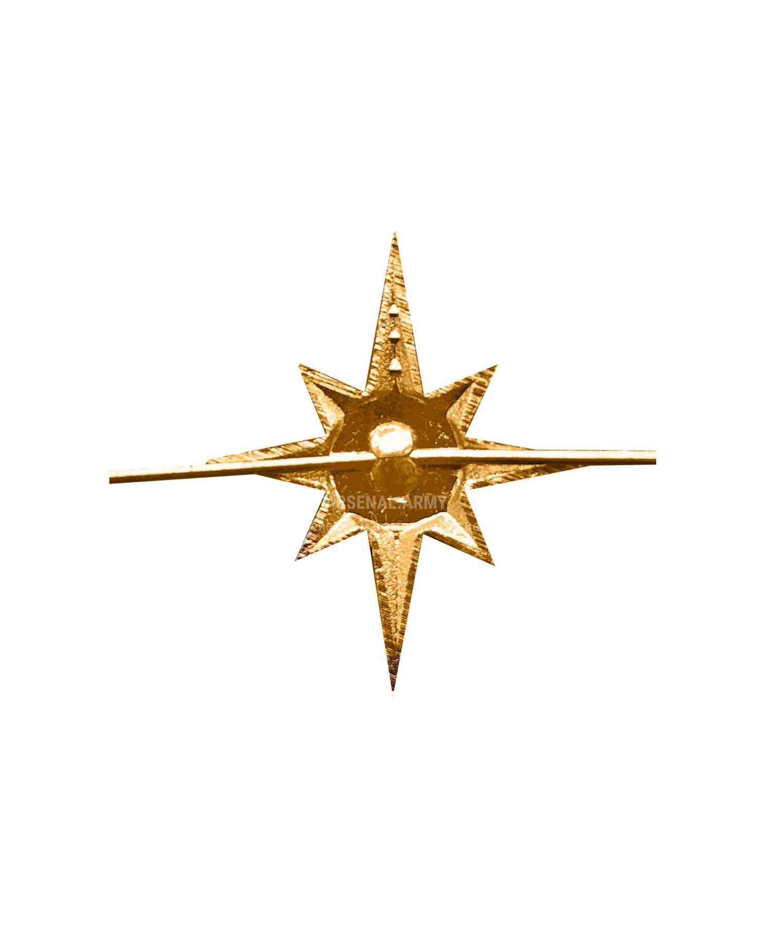 Эмблема МЧС металлическая нового образца