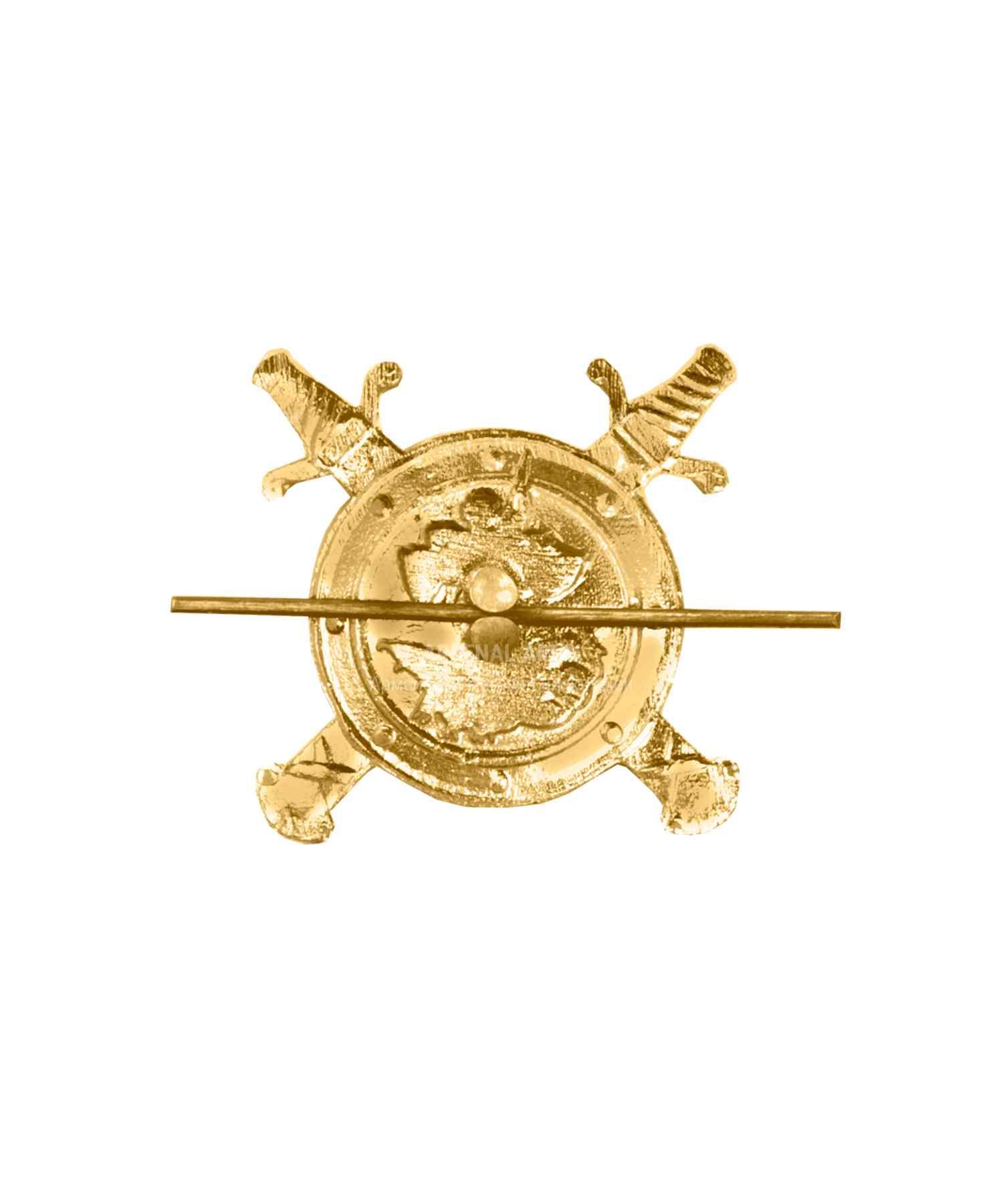 Эмблема полиции металлическая