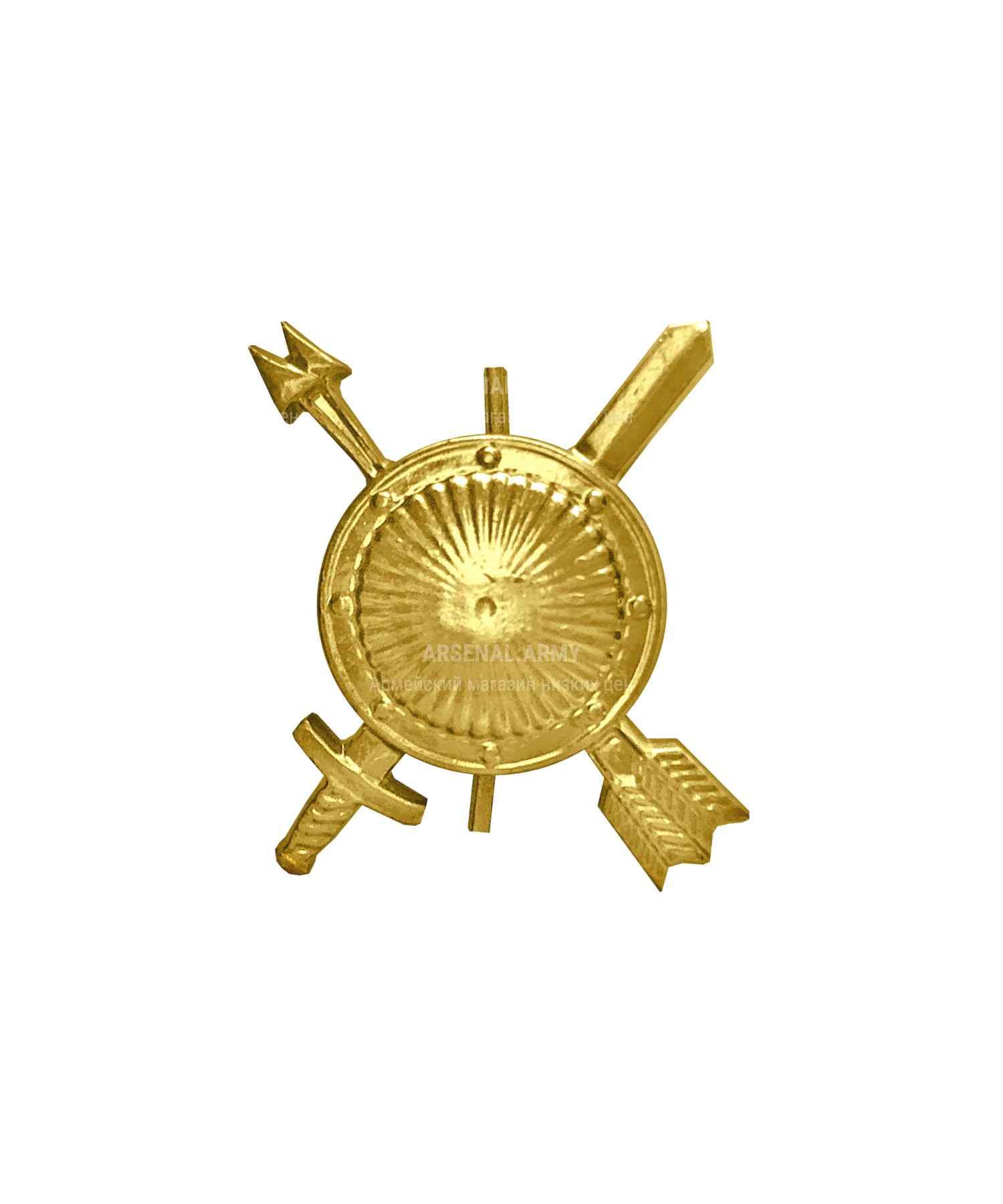 Эмблема РВСН нового образца металлическая
