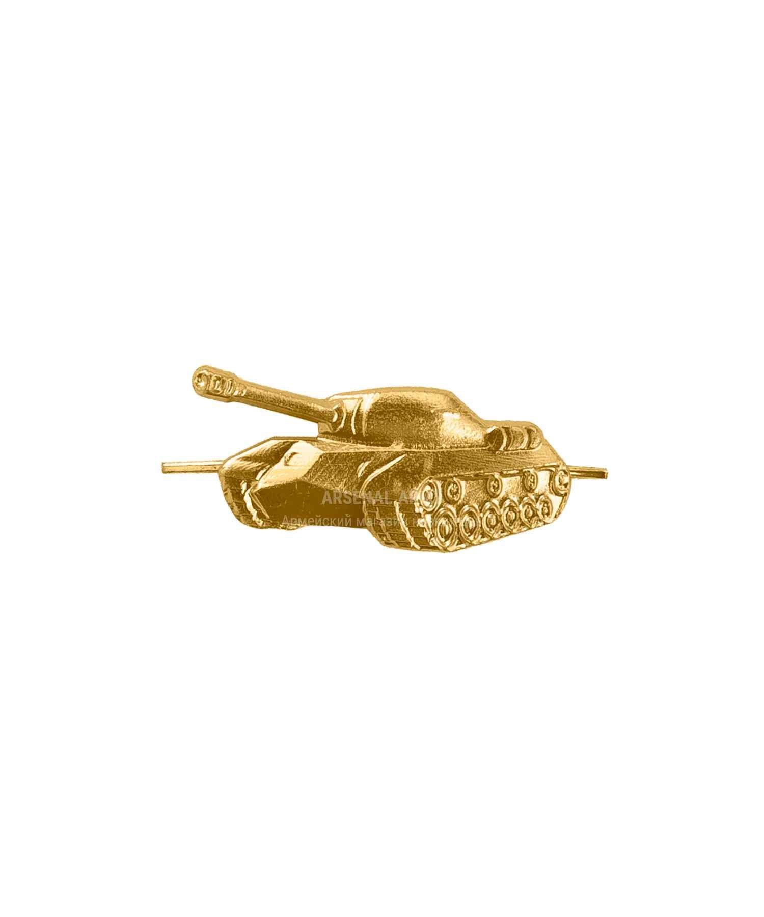 Эмблема танковые войска (левая)