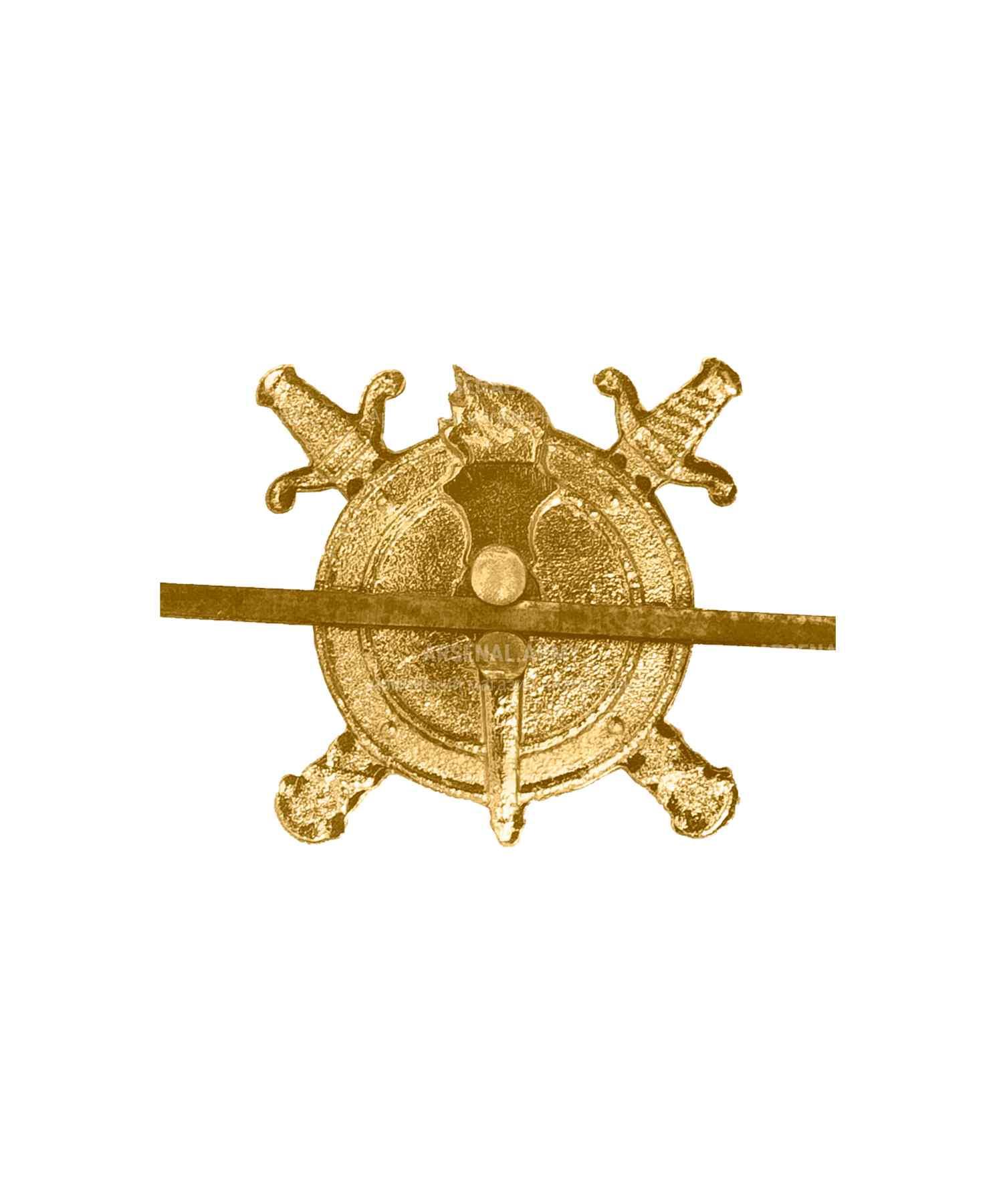 Эмблема юстиции металлическая