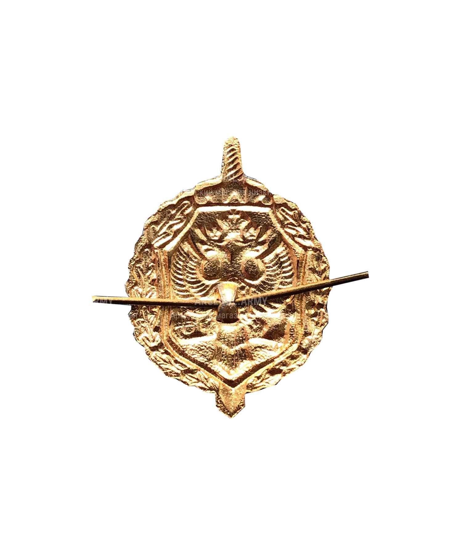 Эмблема ФСБ золото