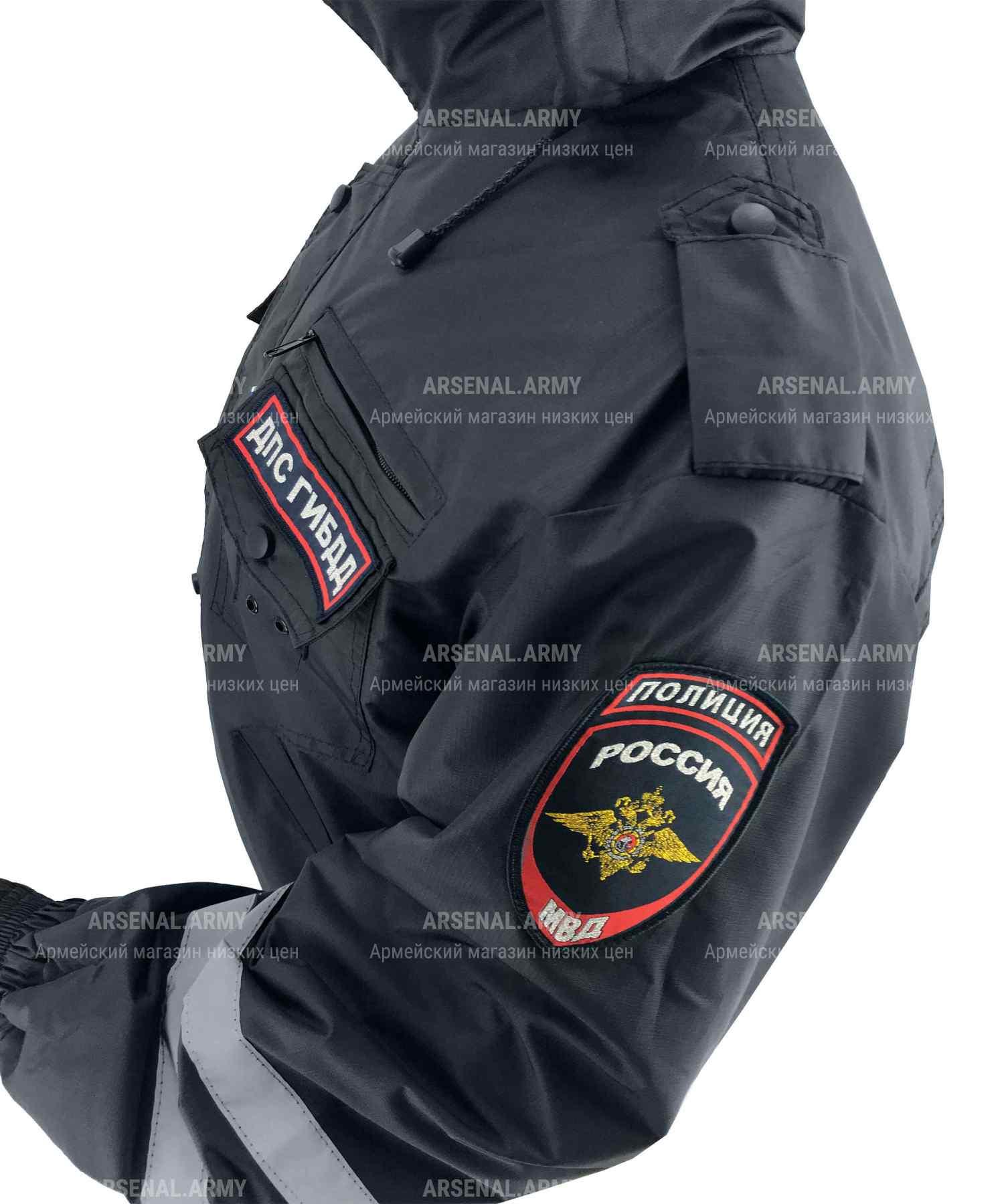 Ветровка ДПС полиция без синтепона