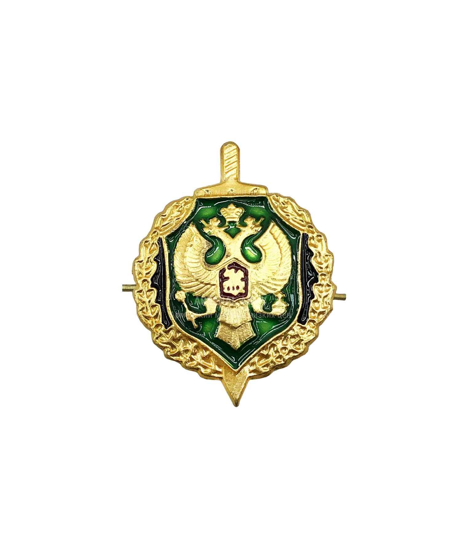 Эмблема ФПС металлическая