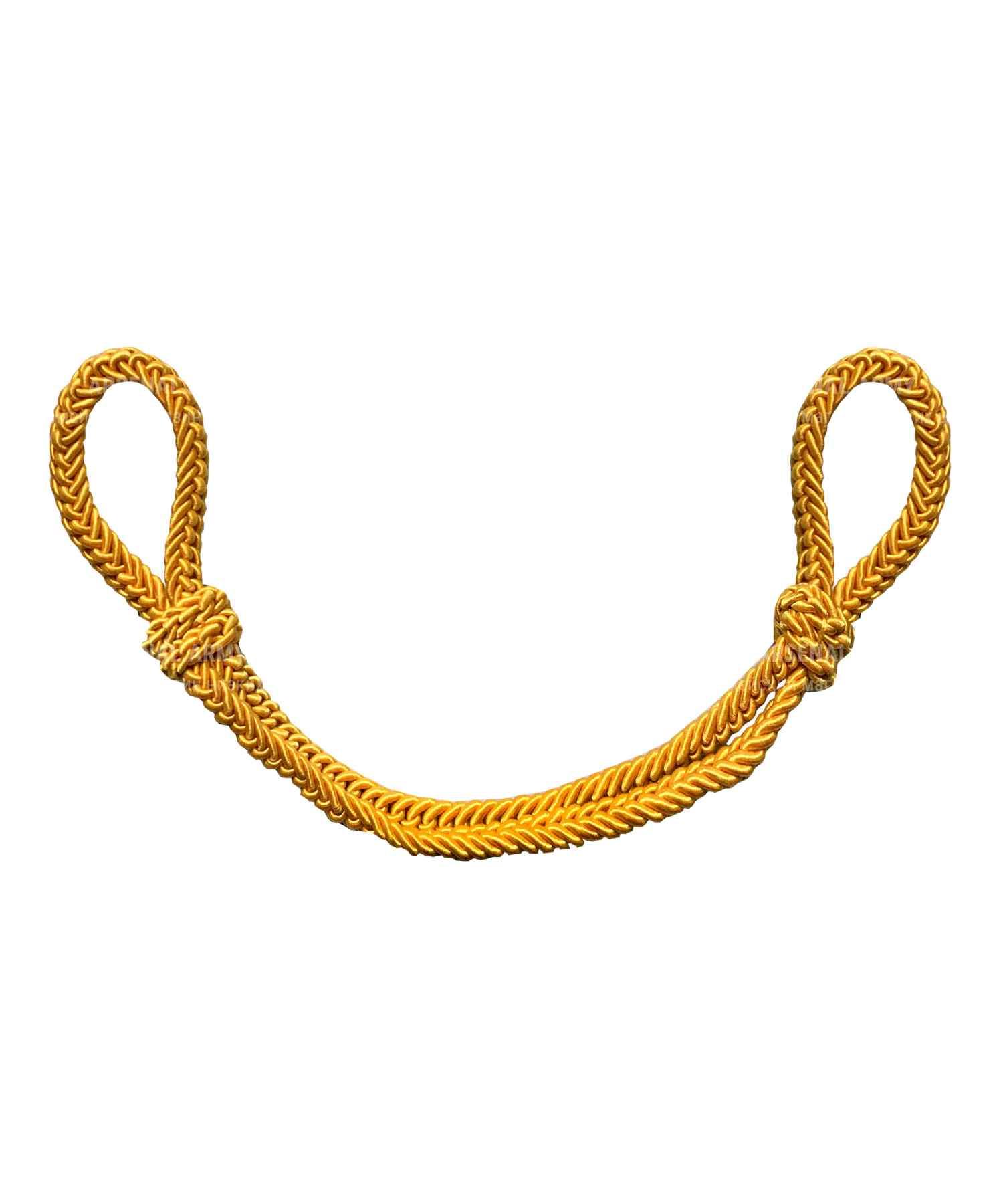 Филигранный шнур шелковый