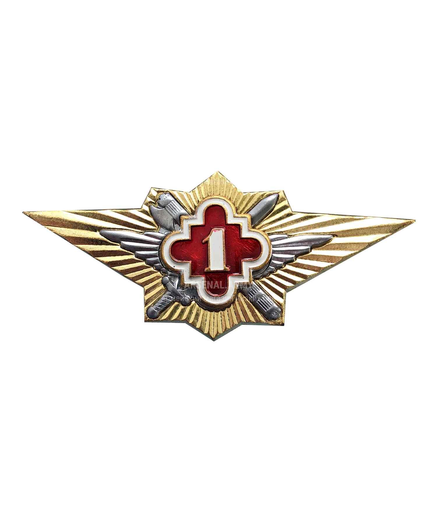 Значки классности ФСИН