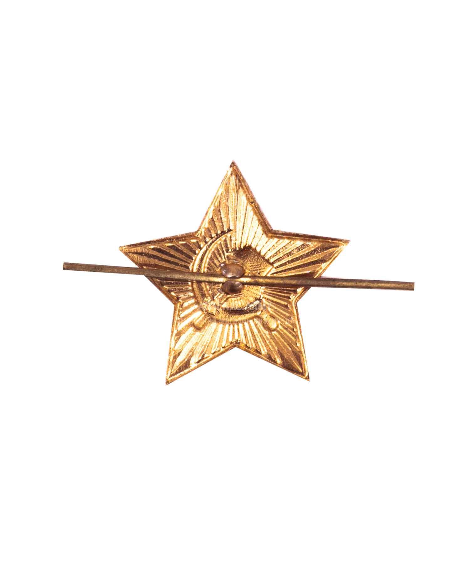 Кокарда звезда на головной убор советской армии