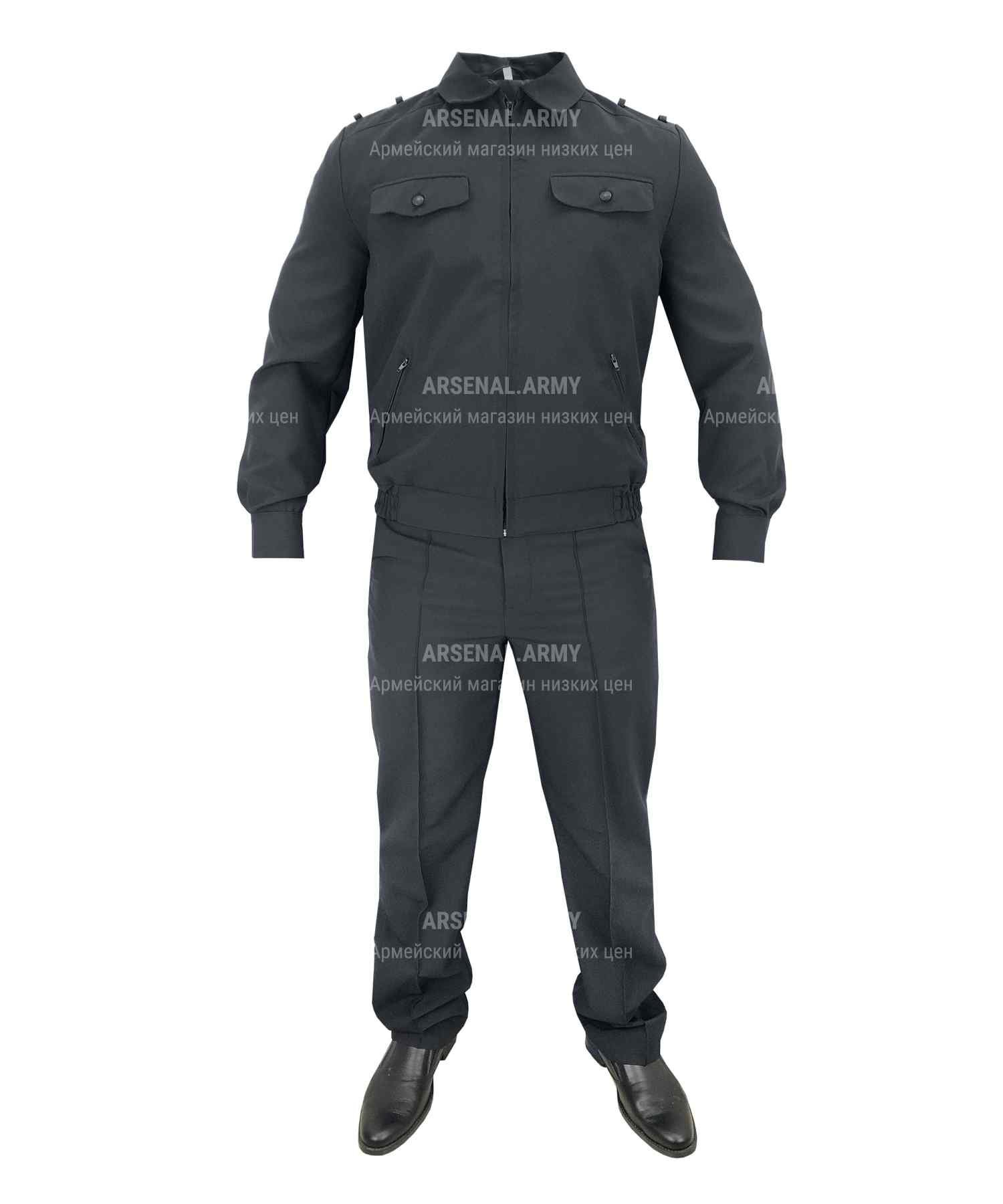 Костюм полиция габардин
