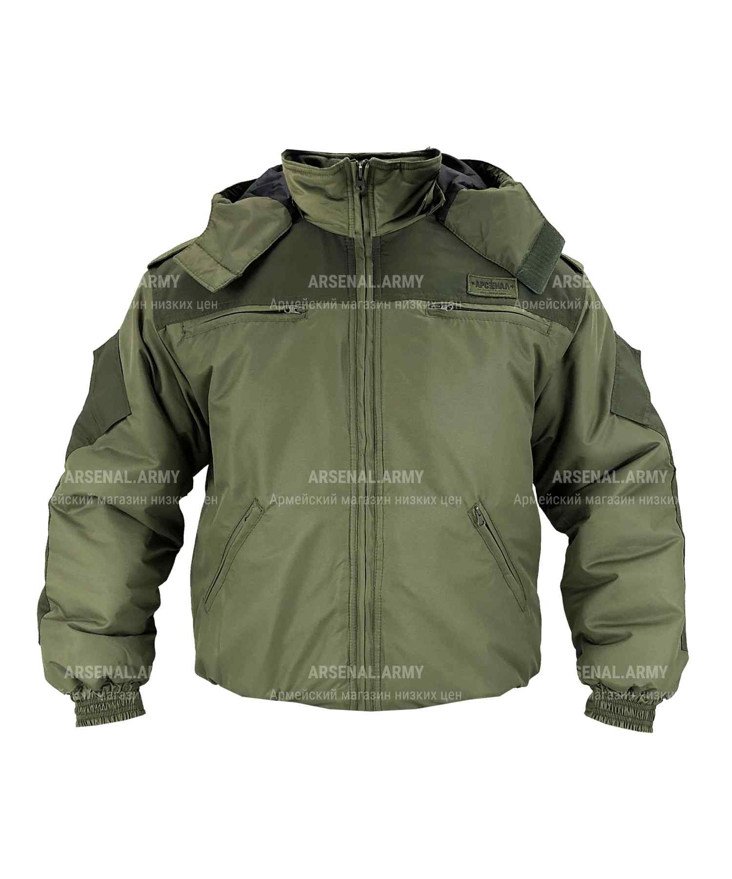 Куртка зимняя хаки милк Арсенал