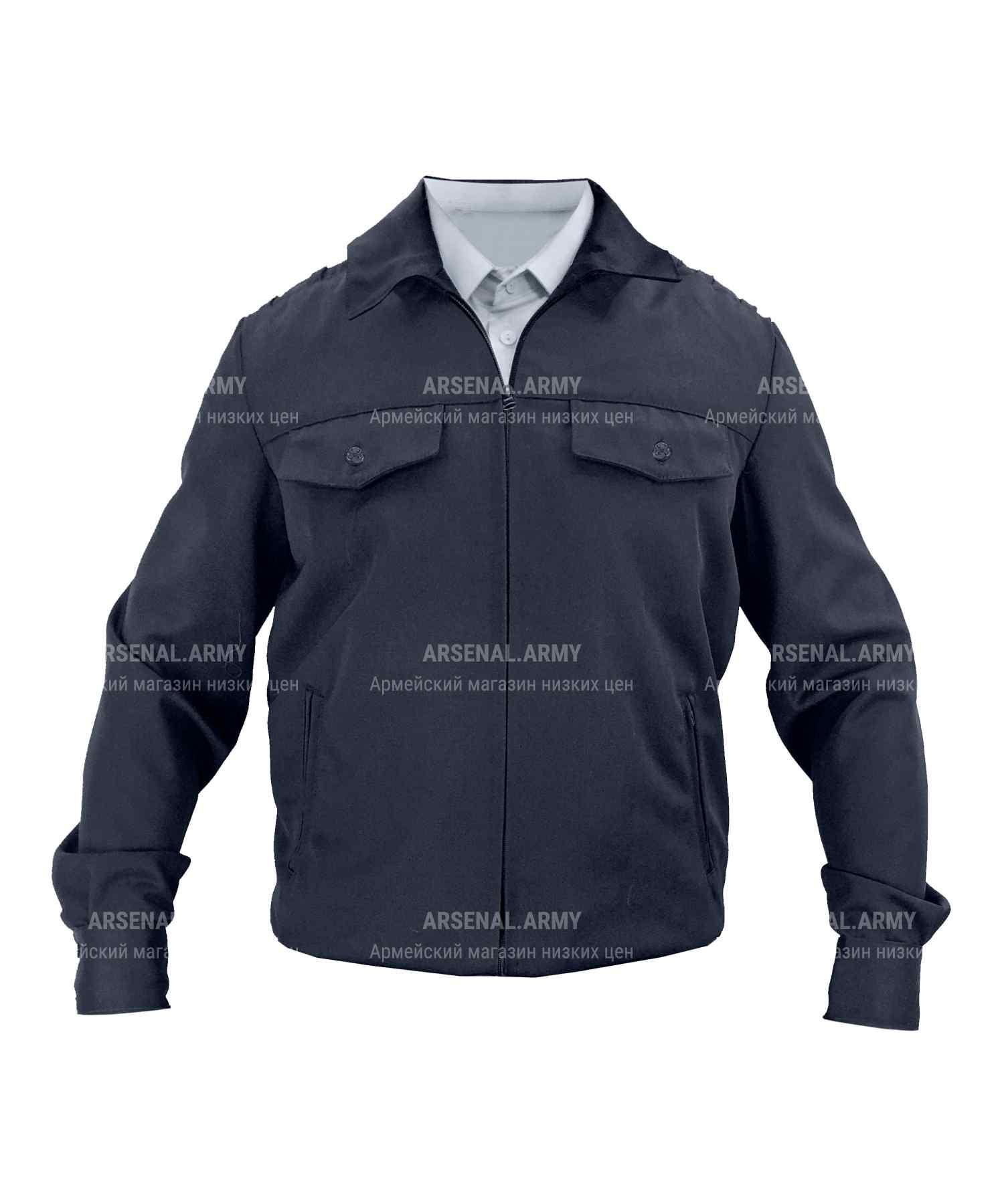 Куртка полушерсть полиции