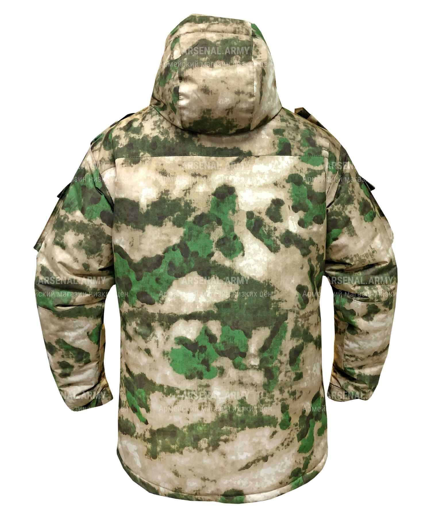 Куртка зимняя росгвардии с подстежкой