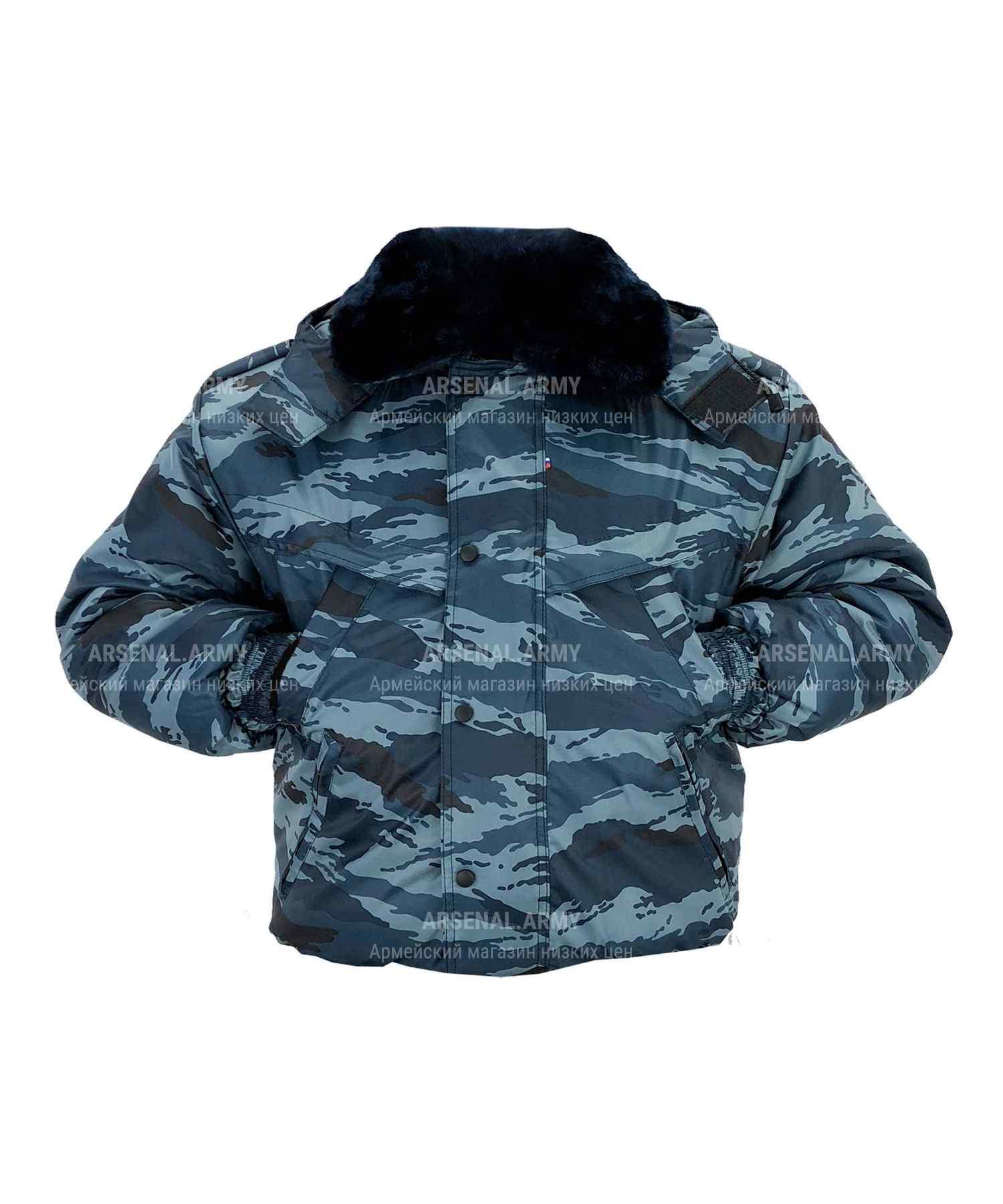 Куртка зимняя береза короткая оксфорд