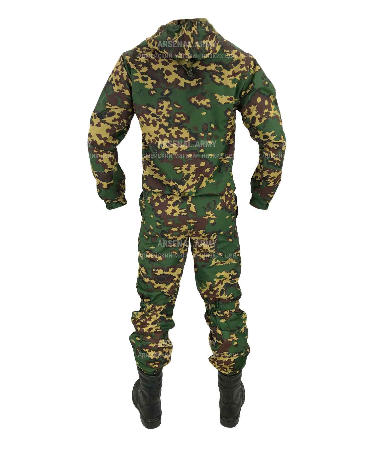 Костюм защитно-маскировочный Партизан зеленый