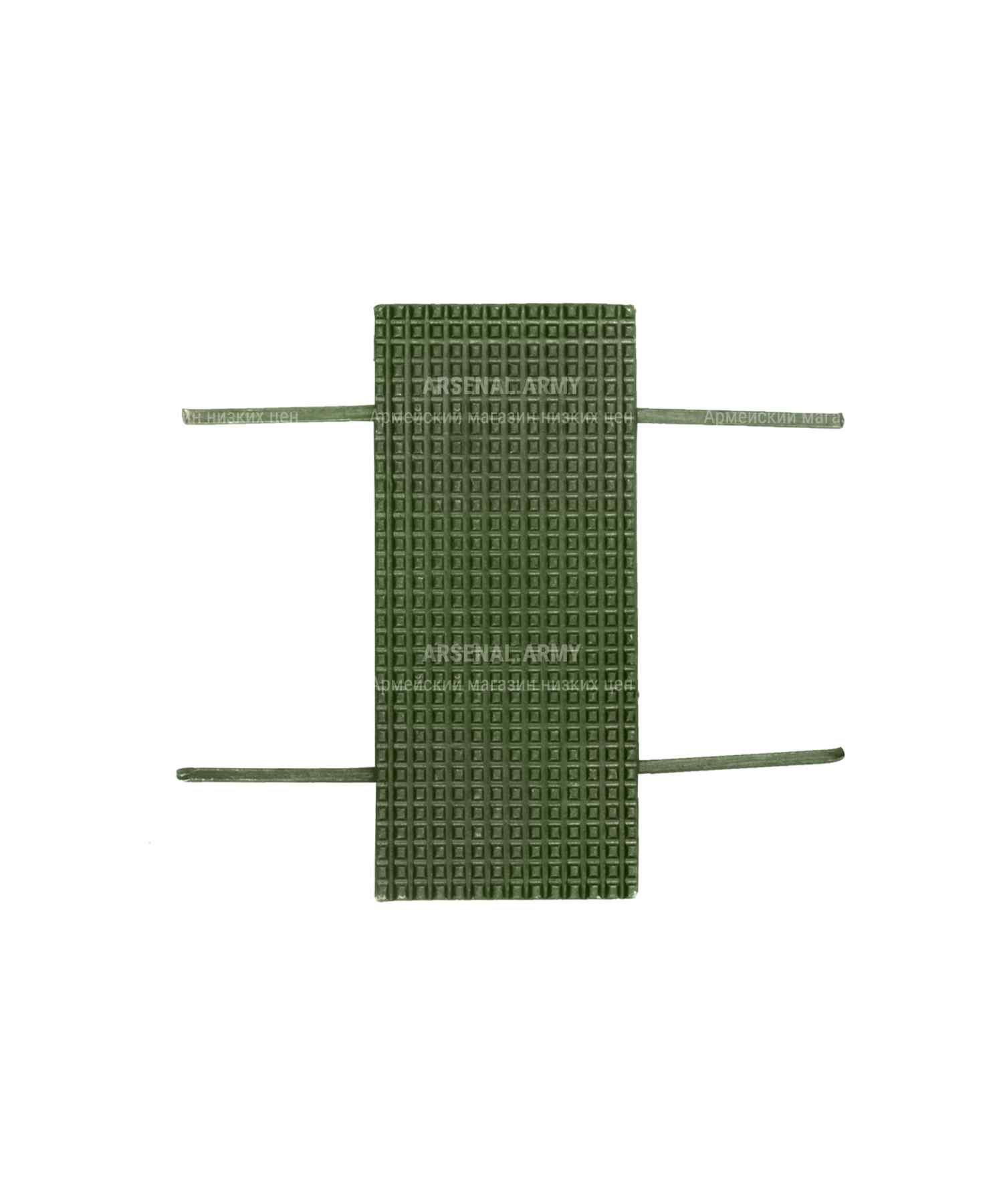Лычка 20x45 см золотая и зеленая