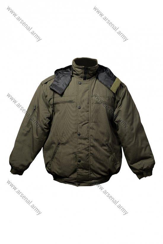 Куртка зимняя короткая хаки