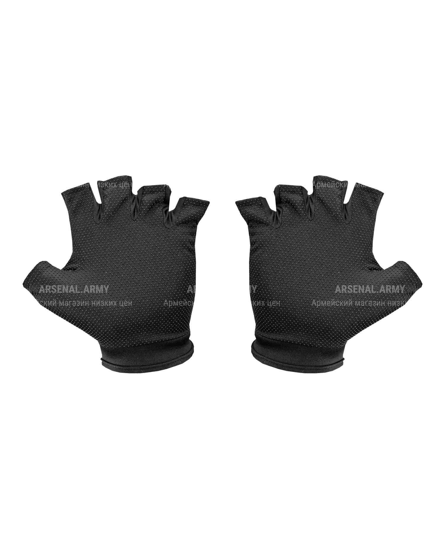 Перчатки 5.11 беспалые черные