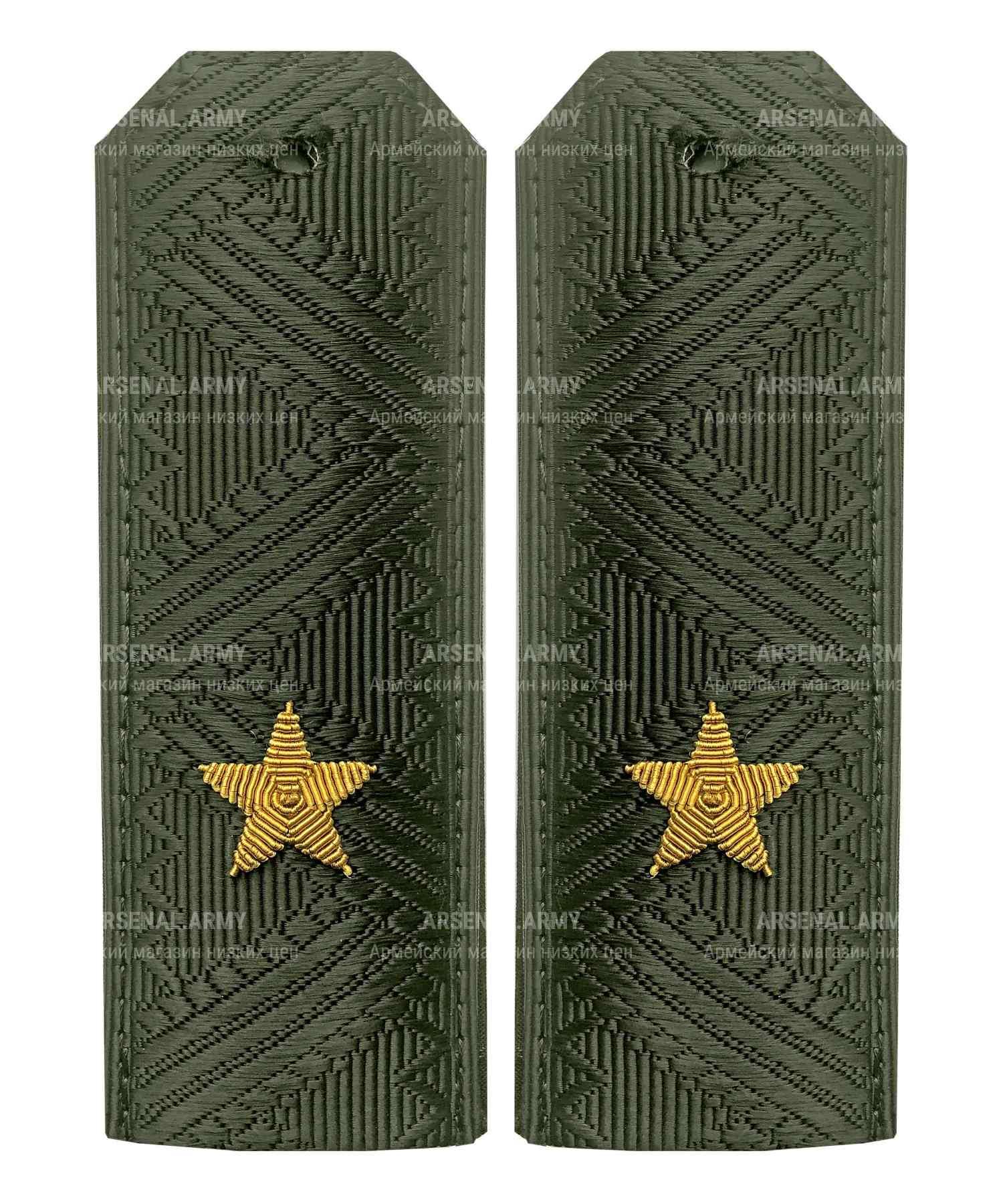 Погоны ВС генерал-майор на китель