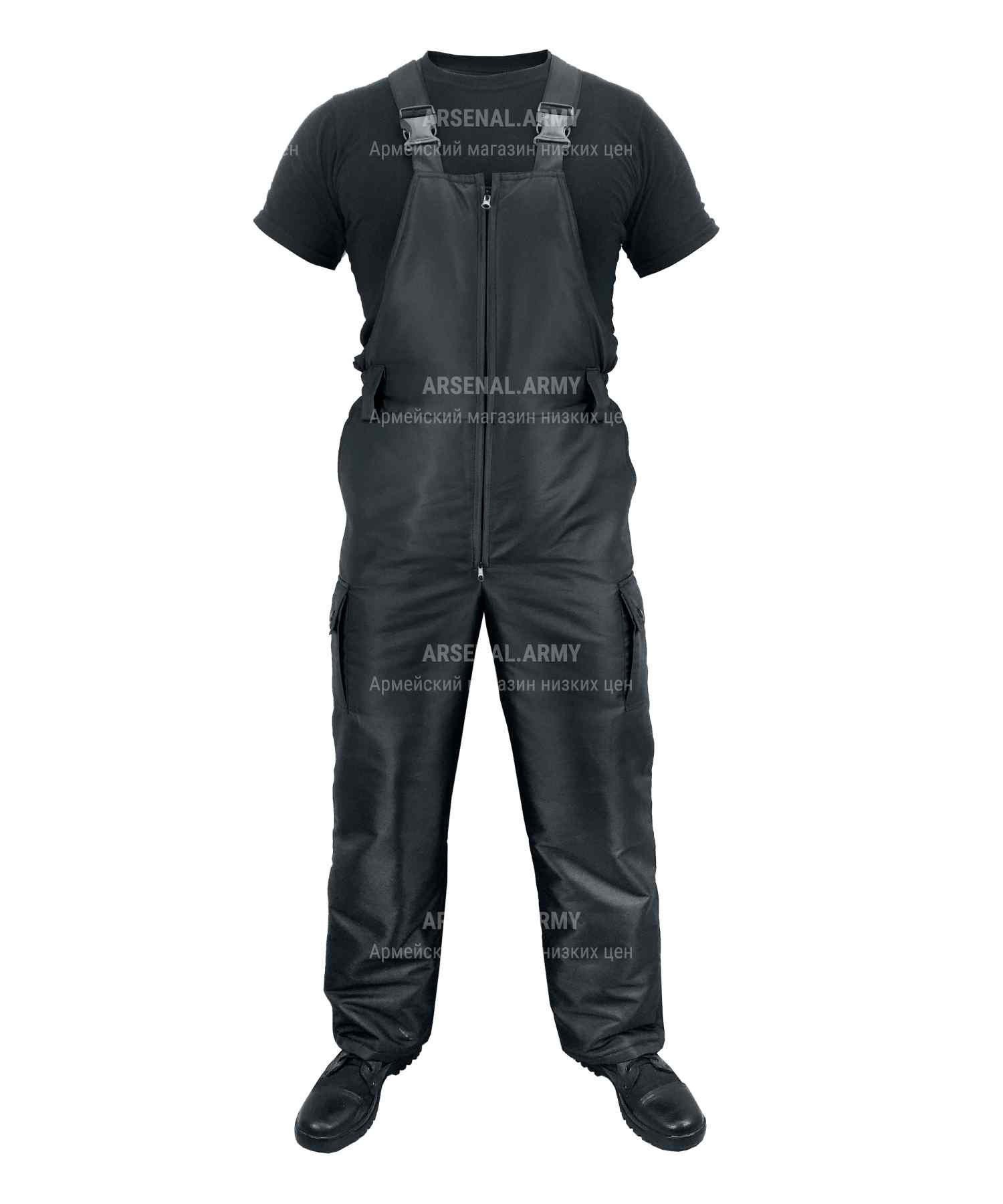 Полукомбинезон черный дюспо