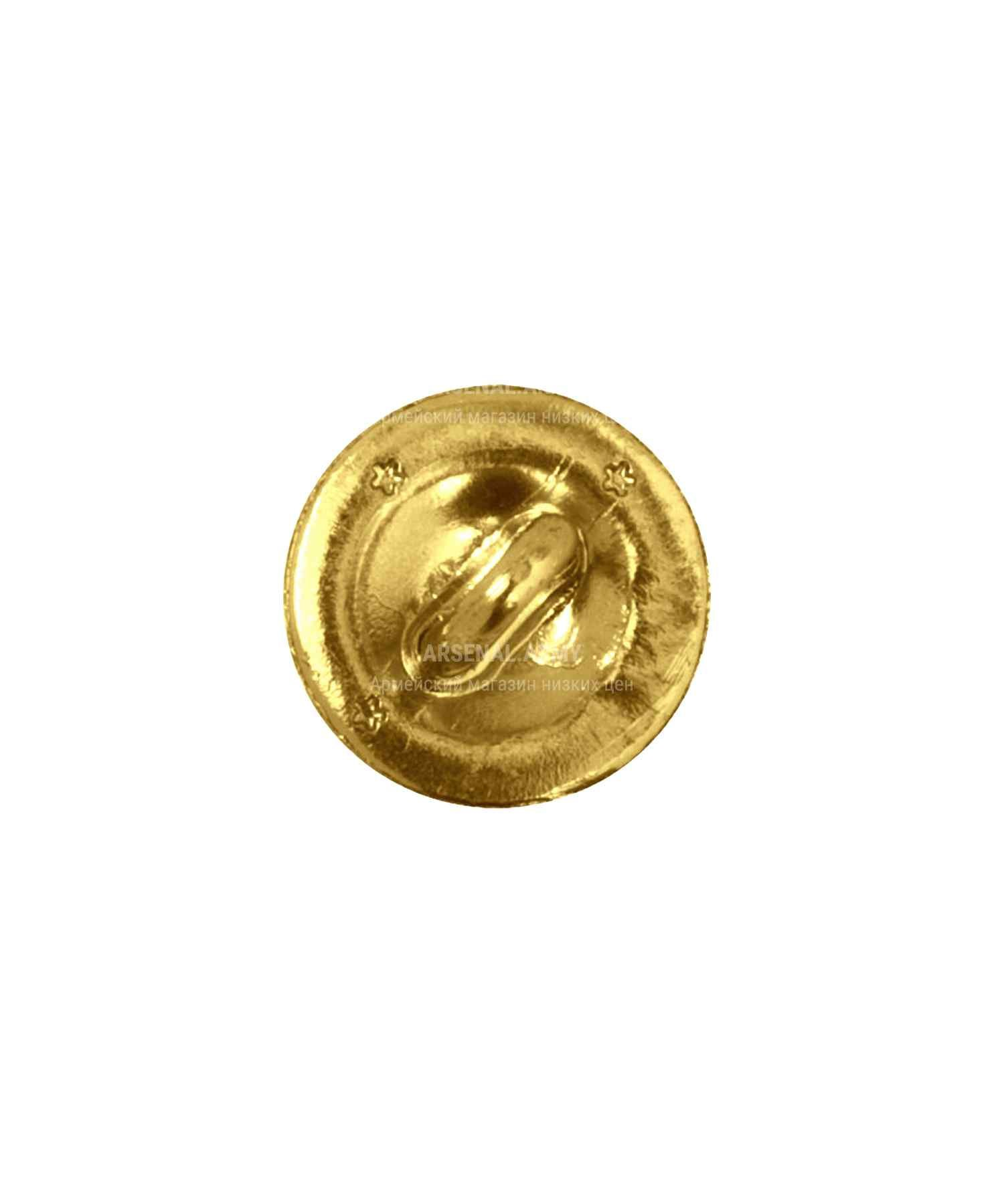 Пуговица МВД желтая 22 мм