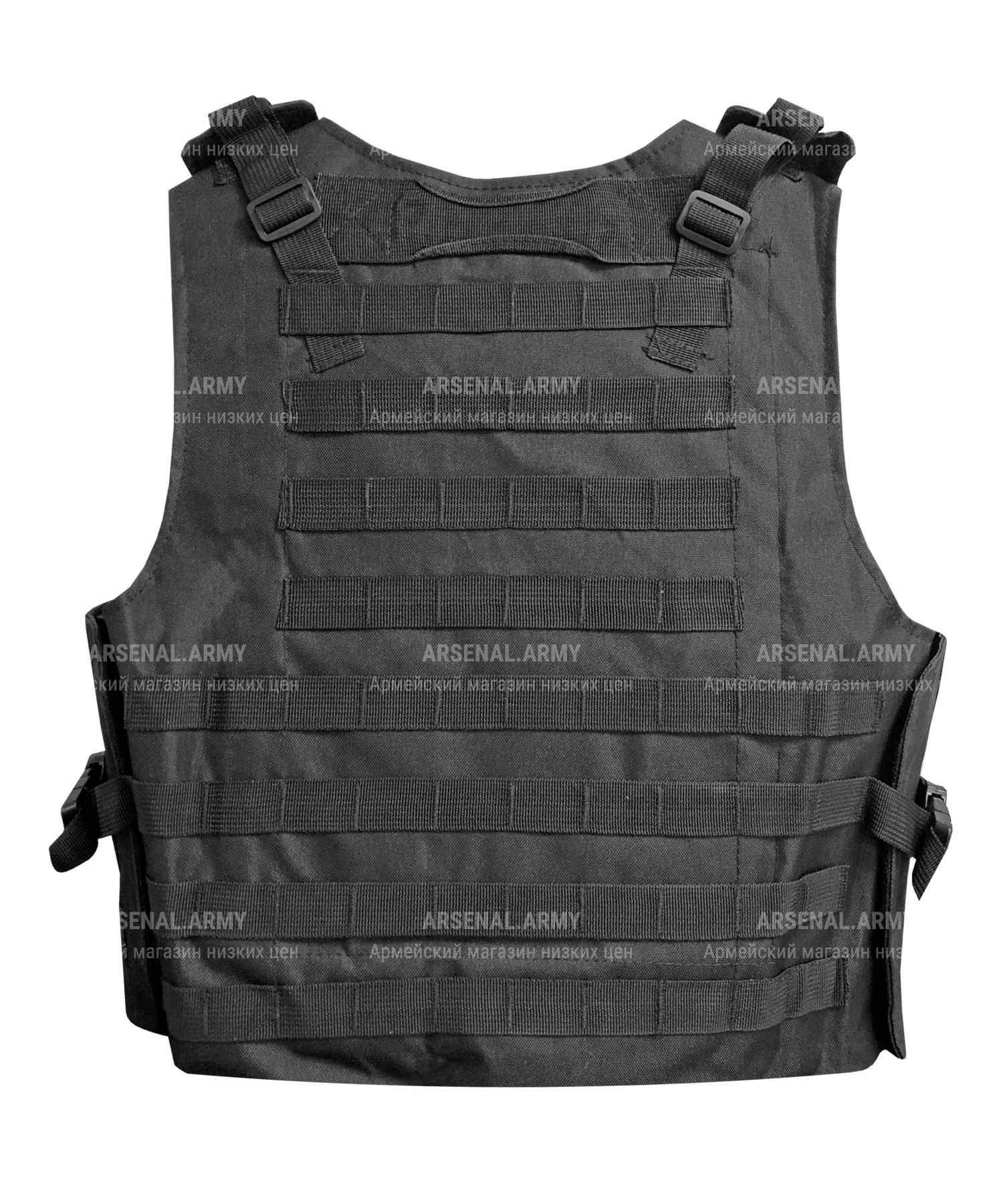 """Разгрузка тактическая """"SWAT"""" черная"""