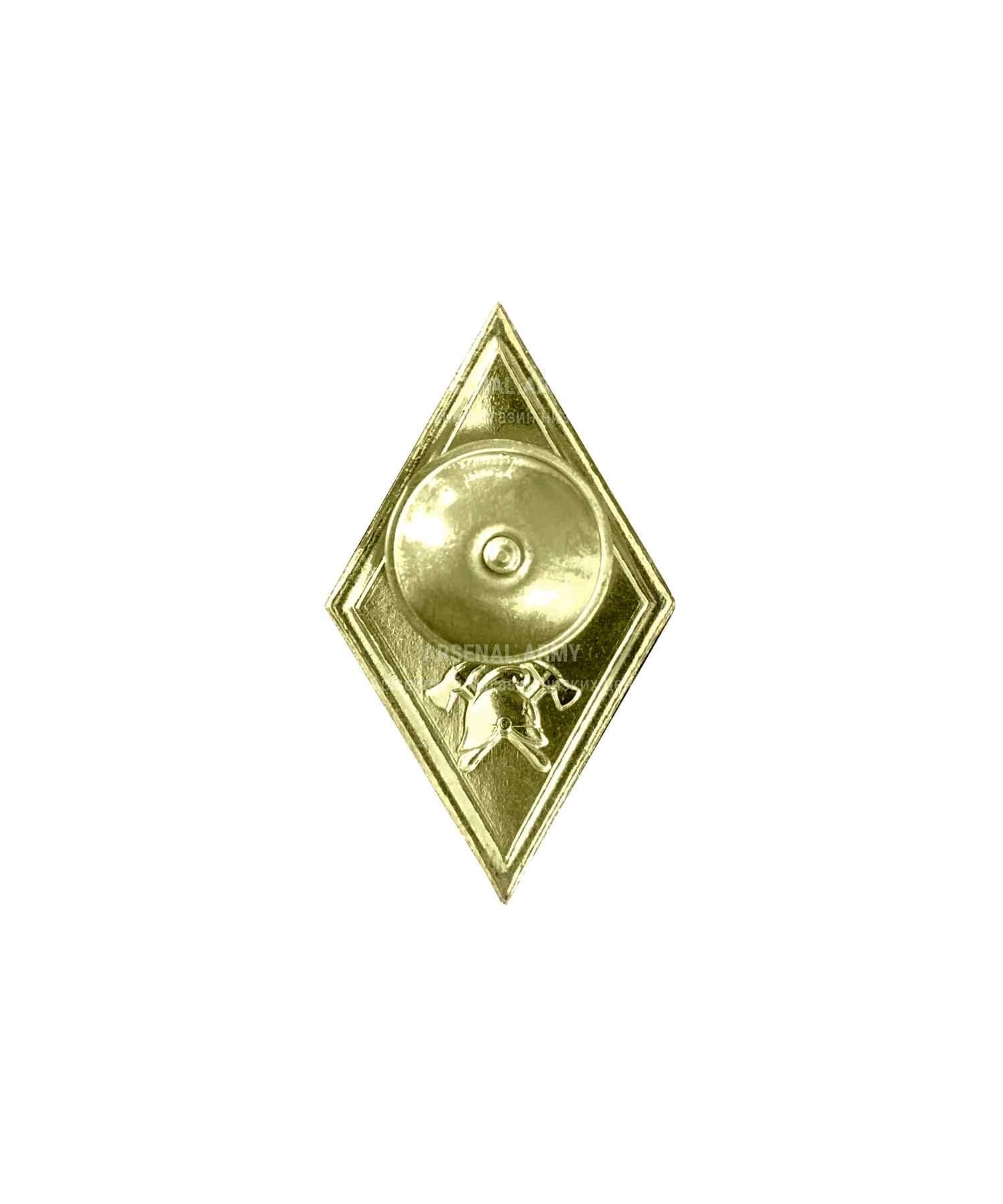 Значок металлический Ромб МЧС Бакалавриат