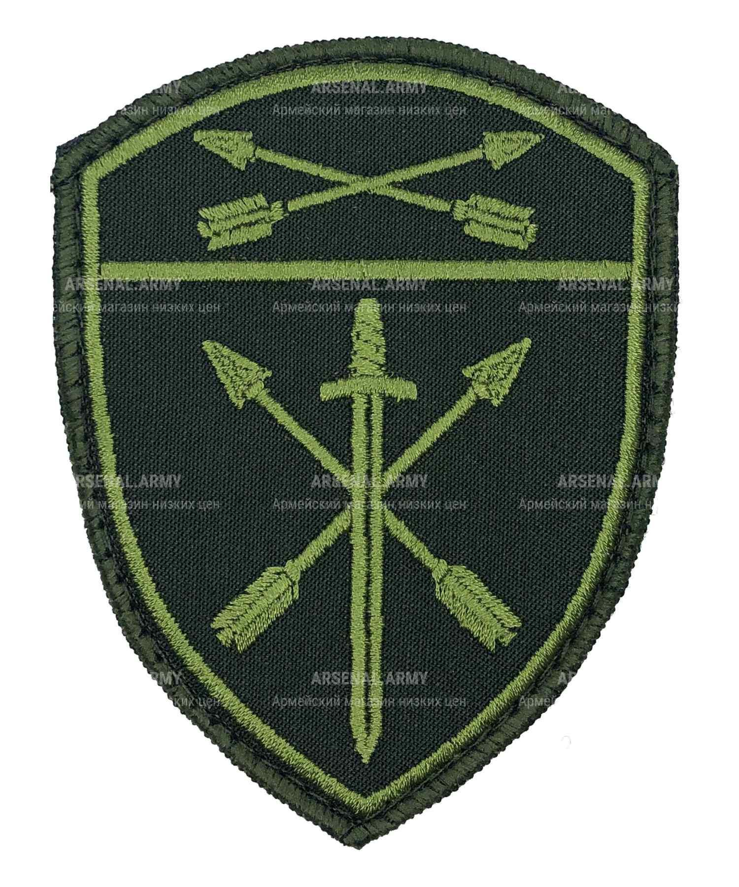 Шеврон Росгвардия полевой Оперативного назначения СО на липе