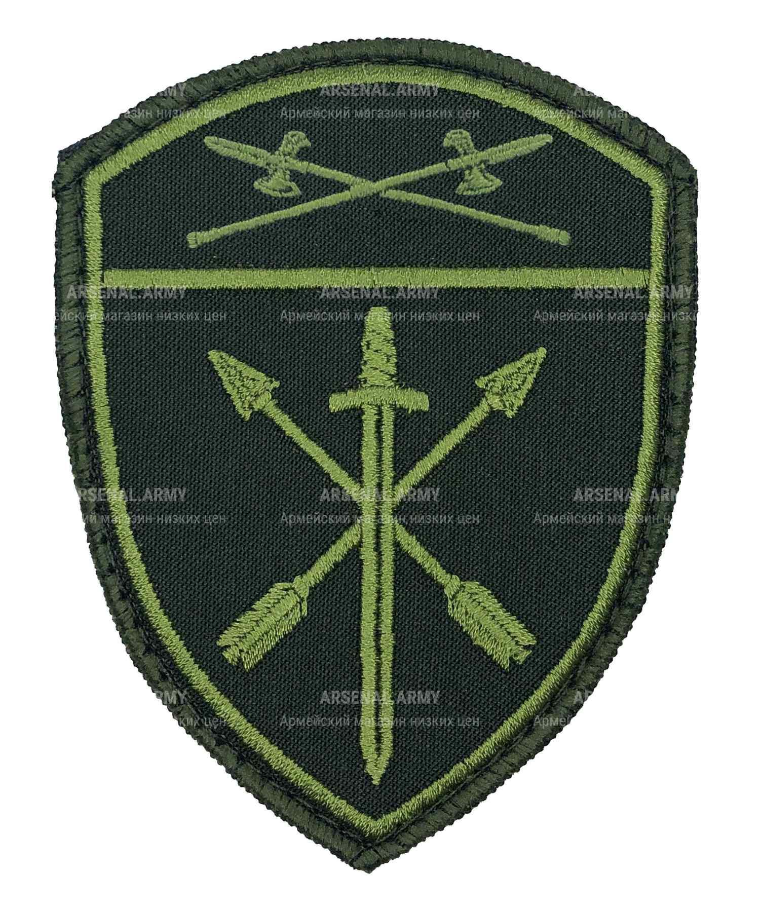 Шеврон Росгвардия полевой Оперативного назначения УО на липе