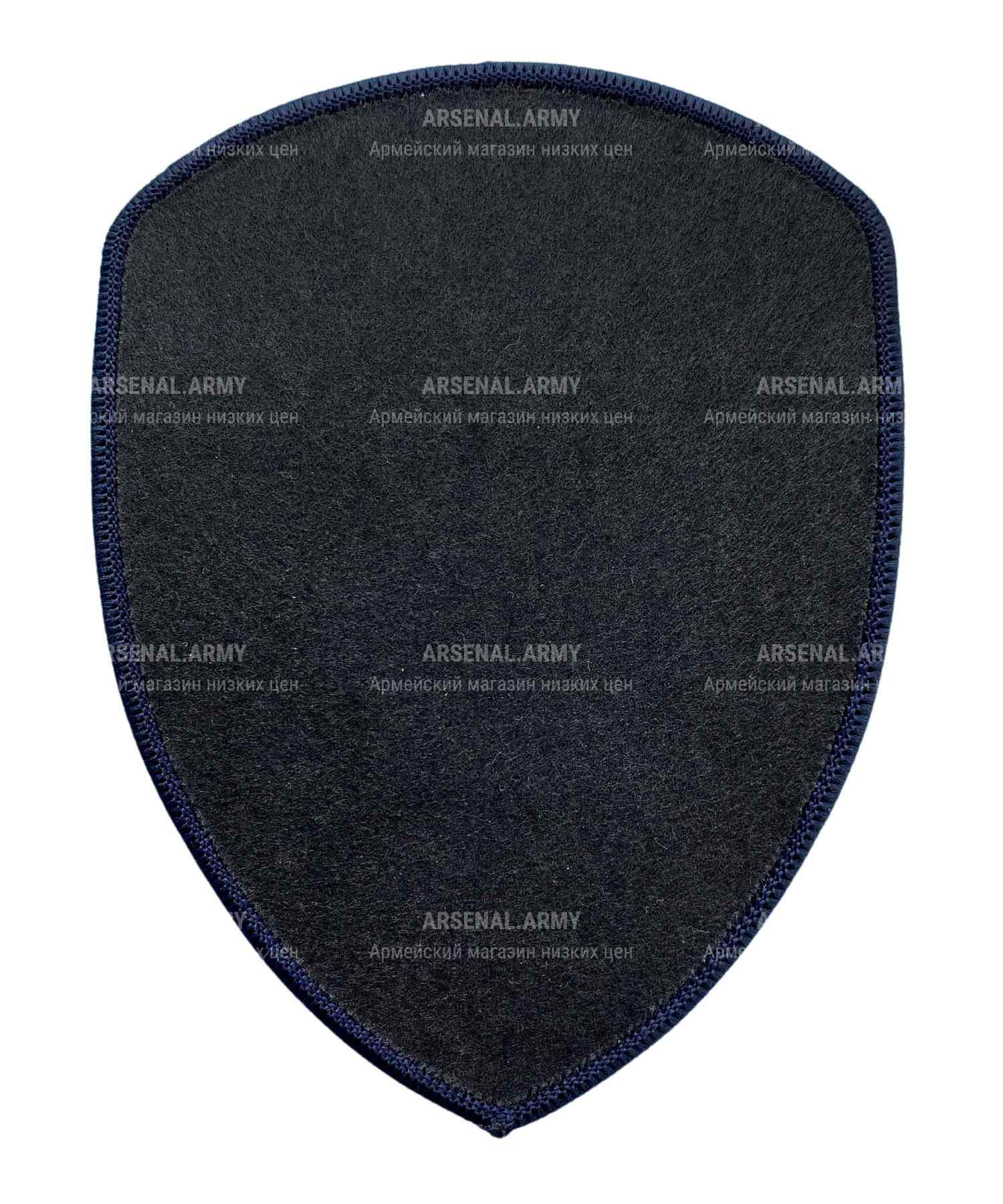 Шеврон жаккардовый полиции герб нового образца