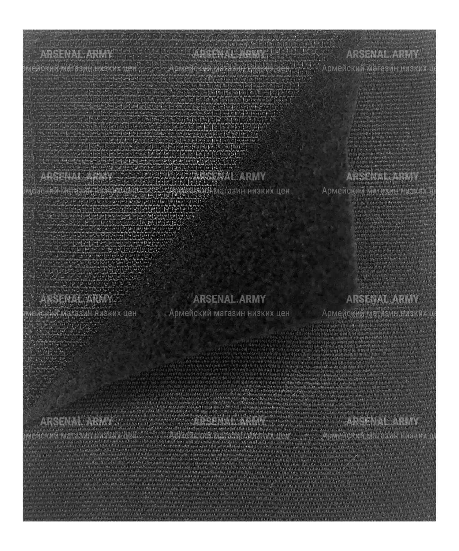 Шеврон вышитый ВДВ темно-синий на липе