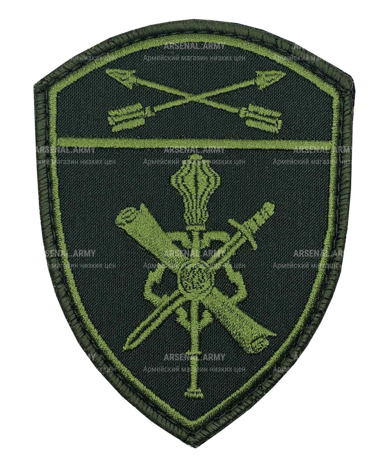 Шеврон Росгвардия полевой Управление Территориальных органов СО на липе
