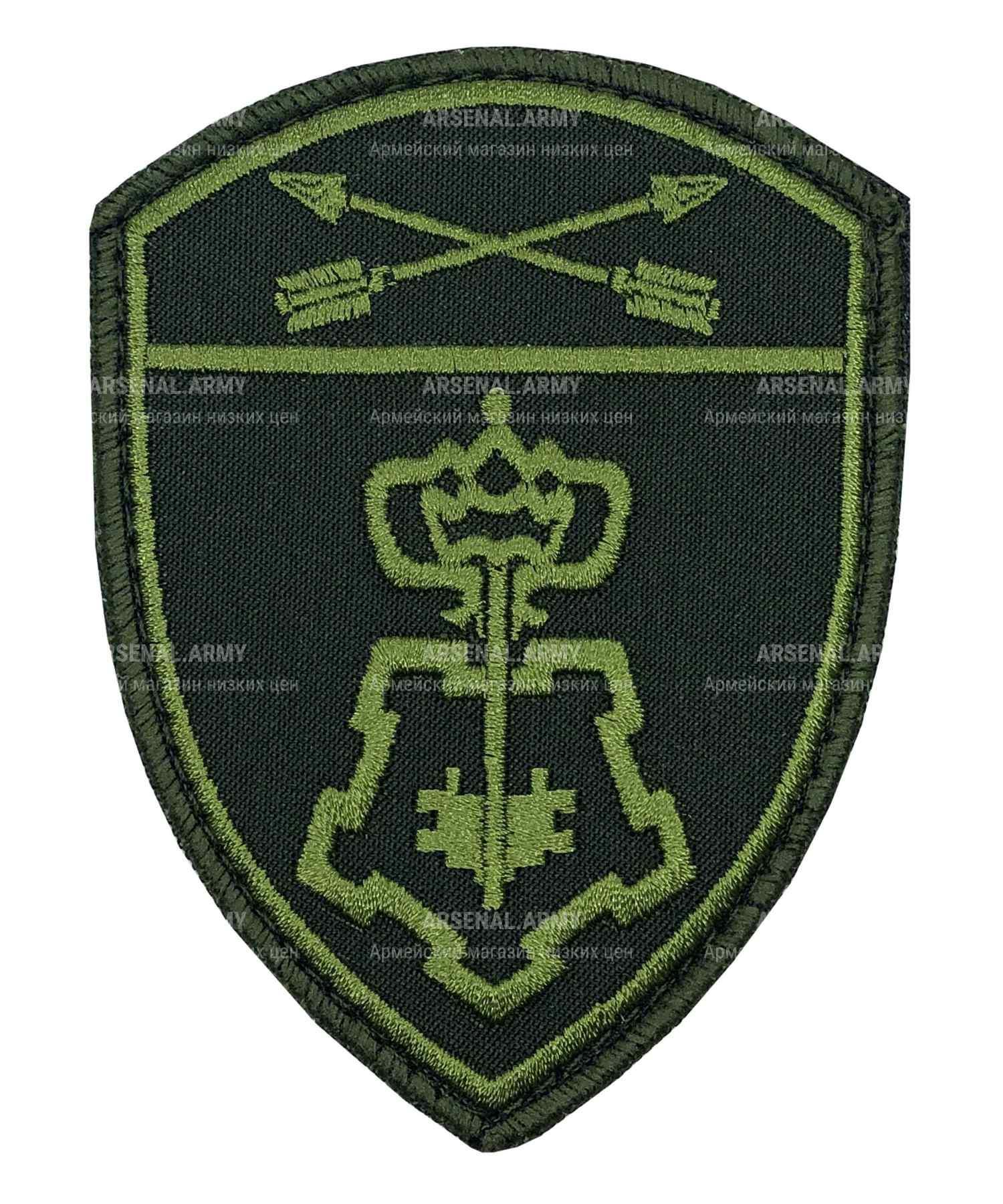 Шеврон Росгвардия полевой Вневедомственная охрана СО на липе