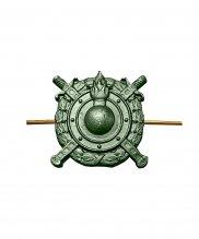 Эмблема ВВ МВД металлическая зеленая