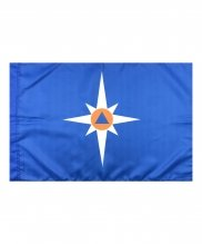 Флаг МЧС 40*60