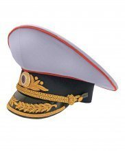 Фуражка полиции парадная генеральская