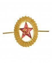 Кокарда орех Советской армии офицерского состава