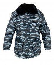 Куртка зимняя береза охрана