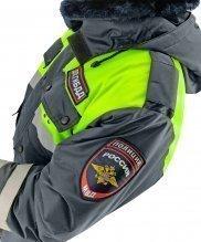 Куртка зимняя ДПС с желтой вставкой с подстежкой