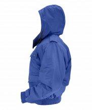 Куртка зимняя синяя короткая