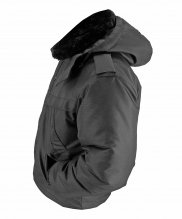 Куртка зимняя черная дюспо короткая