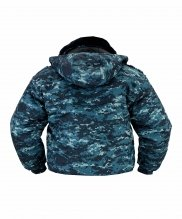 Куртка зимняя цифра светлая