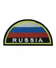 Шеврон вышитый МЧС флаг Russia