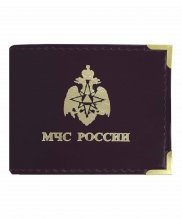 Обложка на удостоверение МЧС России с окном