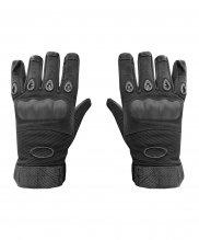 Перчатки черные с защитой