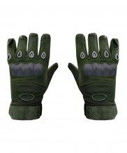 Перчатки с защитой оливковые