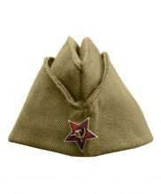 Пилотка СССР со звездой