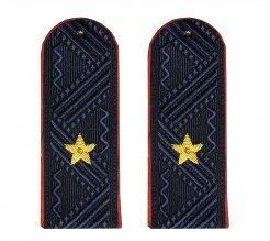 Погоны полиции на китель Генерал-майор