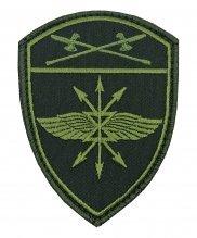 Шеврон Росгвардия полевой Подразделение связи УО на липе