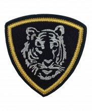 Шеврон вышитый тигр